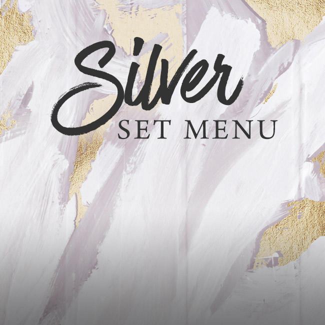 Silver set menu at The Flying Horse